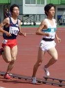 2010名阪戦男子5000 OP2組目 その2