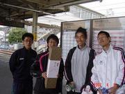 焼津ハーフで遭遇した懐かしい人々と愉快な仲間たち2007