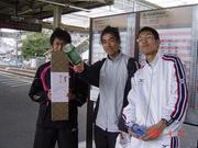 焼津ハーフ三位入賞の末次先輩と愉快な仲間たち2007